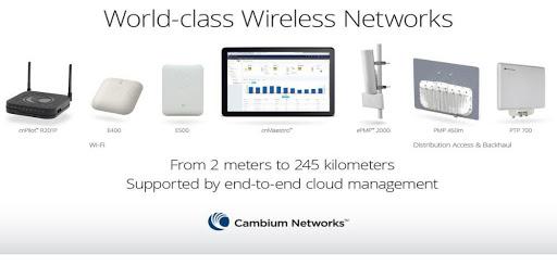 Đại lý phân phối wifi Cambium